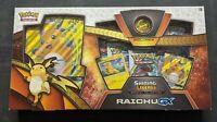 Shining Legends Special Collection Raichu GX Box Sealed Pokemon TCG