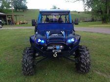Polaris RZR 570/800/800S/900XP/XP4 VooDoo Blue 1/2 windshield LIMITED!!!!