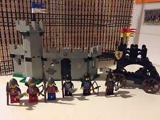 LEGO CASTLE VINTAGE 6062 BATTERING RAM BLACK FALCONS 100% VGC