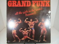 GRAND FUNK All The Girls In The World Beware LP insert 1974 123735 VG/VG+ c VG