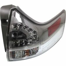 New Tail Light (Passenger Side, Outer) for Toyota Sienna TO2805110 2011 to 2015