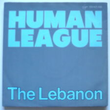 "HUMAN LEAGUE - The Lebanon - 7""-Single"