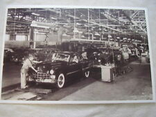 1948 CADILLAC  ASSEMBLY LINE 11 X 17  PHOTO  PICTURE