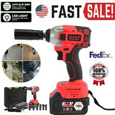 330Nm Electric Cordless Impact Wrench Gun +21v Rechargeable Li-Ion Battery -