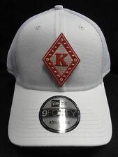 Kappa Alpha Psi White New Era NE204 Snap Back with Kappa Diamond Patch