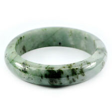 TOP JADE BANGLE : 431,62 Ct Natürlicher Grüner Jade Armreif (Jadeit ) aus China