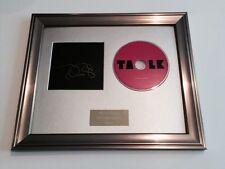 SIGNED/AUTOGRAPHED DANIEL JOHNS - TALK FRAMED CD PRESENTATION. RARE. SILVERCHAIR
