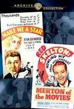 MAKE ME A STAR/MERTON OF THE MOVIES NEW DVD