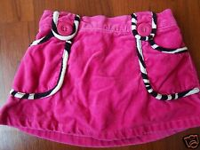 Toddler Girls WILD FOR ZEBRA Hot Pink Fuscia skirt bottoms bloomers 12-18 mo