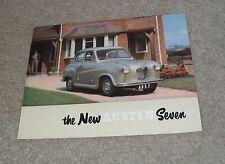 Austin Seven Brochure A30 1951-1952