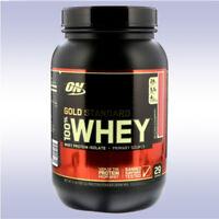 OPTIMUM NUTRITION GOLD STANDARD WHEY (2 LB) protein isolate powder amino energy