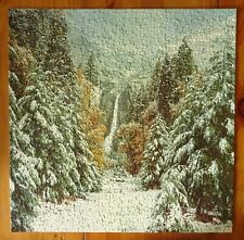 Vintage Springbok Puzzle Winter in the Mountains