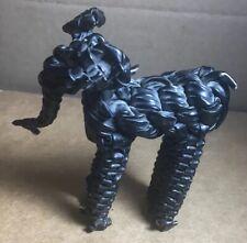 Vintage Black Wire Elephant Figure