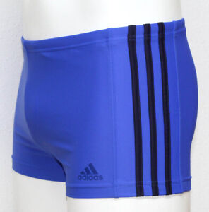 adidas INF EC3S Infinitex 3-Streifen Boxer Badehose Blau 6 / 50 / M