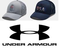 Under Armour Men's Classic Freedom USA Trucker Mesh Cap Hat - FREE SHIP- 1351640