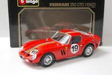 1:18 Bburago Ferrari 250 GTO 1962 red #19 NEW bei PREMIUM-MODELCARS