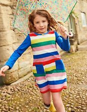 NWT Mini Boden Stripy Jersey Multi Color Dress  Girls sz 7 8  yrs