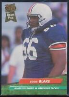 1992 Fleer Ultra Football Card #419 Eddie Blake RC