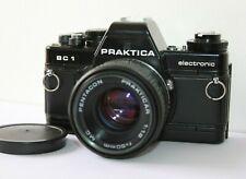 Praktica BC1 Electronic 35mm SLR Film Camera Body 50mm Lens Kit.Tested.Warranty
