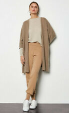 Karen Millen Oversized 98% Cashmere Taupe Cardigan Size M/L BNWT
