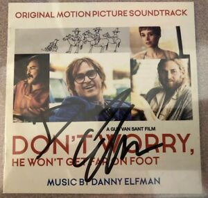 """Danny Elfman AUTOGRAPHED """"Don't Worry"""" CD Booklet   Beckett Authentic"""