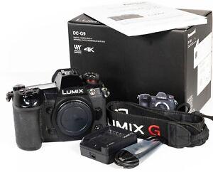 Panasonic Lumix G9 Mirrorless 4K 1080P 20MP Digital Camera Body
