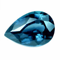 Certified Natural Unheated Teal Sapphire 0.84ct VVS Clarity Madagascar Pear