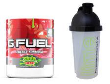 Gamma Labs GFuel Sour Cherry Tub (40 Servings) - G Fuel - FREE 500ml SHAKER