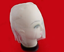 Beige Full Lace Wig Cap. Wig base for Ventilating or Knotting. Wig foundation.