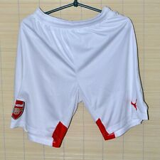 ARSENAL 2014/2015 HOME FOOTBALL SHORTS JERSEY PUMA  SIZE S ADULT