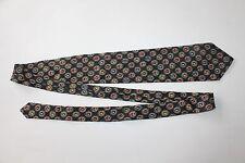 Authentic CHANEL Boutique Blue 100% Silk Men's Neck Tie Italy