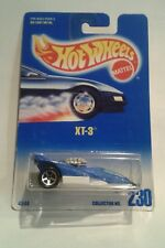 Hot Wheels XT-3 Tarjeta Azul cardada y sellado 230