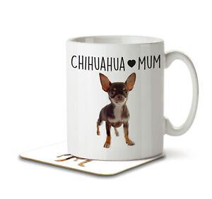 Chihuahua Mum - Mug and Coaster by Inky Penguin