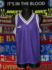 5/5 Puma adults XL/M MINT basketball kit shirt + shorts retro vintage