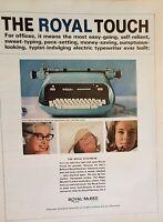 Lot of 3 Vintage 1964 Royal McBee Typewriters The Electress Royalite Keysort