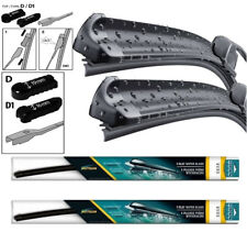 "Kia Venga 2009 - 2018 Front Pair Flat Aero Wiper Blades 26"" 14"" Set D"