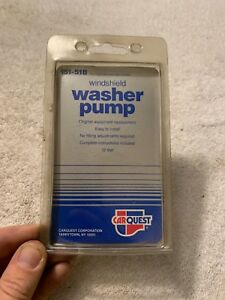 NEW CARQUEST 151-518 / 173690 WINDSHIELD WASHER PUMP Free Shipping! #5A