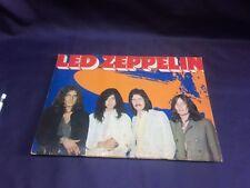 Led Zeppelin 1971 JAPAN TOUR BOOK concert program DEBUT!
