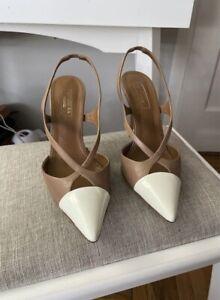 aquazzura 37 Slingback sandal heels