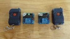 Pair of Relay/Transmitters w/Remotes! Songle SRD-12VDC-SL-C / SY-JS1201