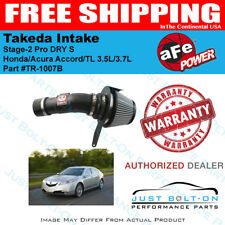aFe Takeda Stage-2 DRY Intake for 08-12 Accord/09-14 Acura TL 3.5L/3.7L TR-1007B