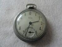Westclox Pocket Ben Mechanical Wind Up Vintage Pocket Watch