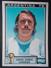 Panini 102 Omar Ruben Larrosa Argentina WM 78 World Cup Story