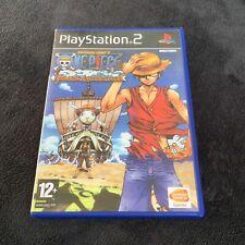 PS2 One Piece Grand Adventure FRA CD état neuf