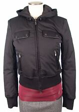 Authentic Belstaff Hooded Reed Lady Blouson Jacket Size 42 Made in Italy NWT
