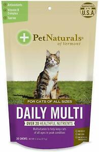 Daily Multi for Cats by Pet Naturals of Vermont, 30 chews 3 pack