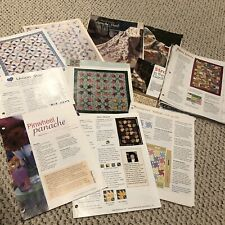 Quilt Patterns from Magazines 30 patterns