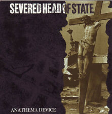 Severed Head of State - Anathema Device CD - USED Punk Rock Album Tragedy