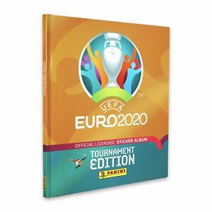 2020 Panini Euro Tournament Edition Hard Cover Album UEFA Limited Edition