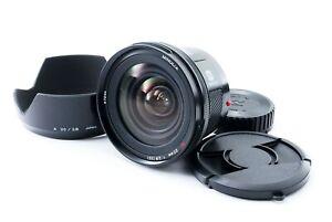 Minolta AF 20mm f/2.8 Lens For Sony A-Mount Excellent+++ W/Hood Tokyo Tested